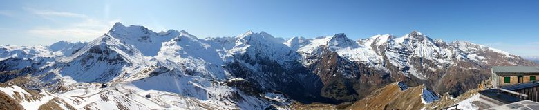 Le alpi Fotografia Stock