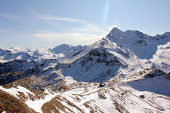 Le alpi Fotografie Stock
