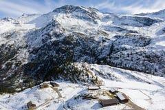 Le alpi in Austria Fotografia Stock