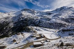 Le alpi in Austria Immagine Stock Libera da Diritti