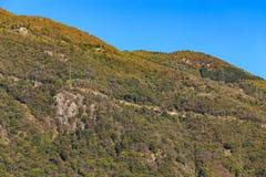 Le alpi in autunno Fotografia Stock Libera da Diritti