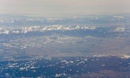 Le alpi del Mountain View di Europa Fotografie Stock Libere da Diritti
