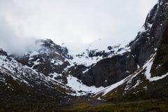Le alpi del sud Immagini Stock