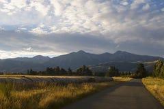 Le alpi del sud Nuova Zelanda Immagini Stock Libere da Diritti