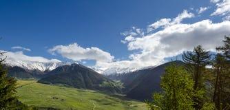 Le alpi di Ötztal Fotografia Stock