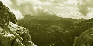 Le alpi di Julian Fotografie Stock
