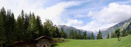 Le alpi di Oetztal nel Tirolo del sud, Italia Immagini Stock Libere da Diritti