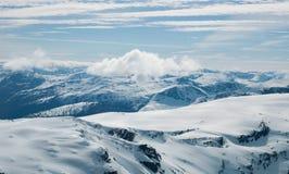Le alpi di Sunnmøre Fotografie Stock