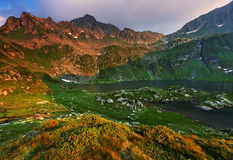 Le alpi di Transylvanian Immagine Stock Libera da Diritti