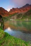 Le alpi di Transylvanian Immagine Stock