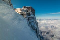 Le alpi francesi - Chamonix-Mont-Blanc Immagini Stock Libere da Diritti
