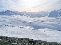 Le alpi in Francia Fotografia Stock
