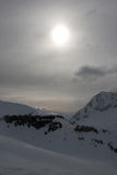 Le alpi italiane Fotografie Stock