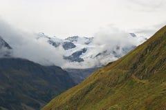 Le alpi nel Tirolo, Austria Immagine Stock Libera da Diritti