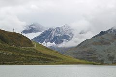 Le alpi nel Tirolo, Austria Fotografie Stock