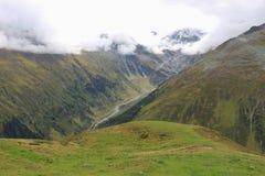 Le alpi nel Tirolo, Austria Immagini Stock