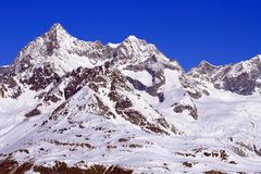 Le alpi svizzere Fotografia Stock