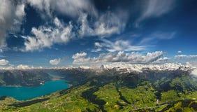 Le alpi svizzere Immagini Stock Libere da Diritti
