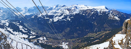 Le alpi svizzere Immagine Stock Libera da Diritti