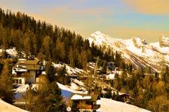 Le alpi svizzere Fotografie Stock Libere da Diritti