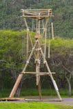 Le alte corde scorrono l'Hawai Immagini Stock Libere da Diritti