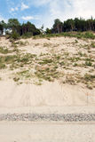 Le alte dune Fotografia Stock