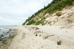 Le alte dune Fotografie Stock Libere da Diritti