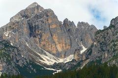 Le altezze di Alpin Fotografia Stock Libera da Diritti