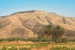 Le Alture del Golan Fotografia Stock Libera da Diritti