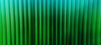 Le ampie linee verticali verdi vibranti orizzontali 3d espellono Bu dei cubi Immagini Stock