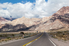Le Ande Argentina Fotografia Stock