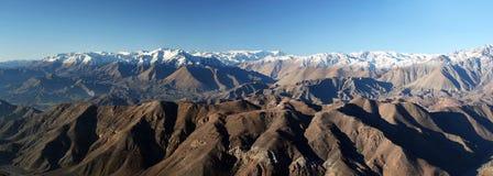 Le Ande dall'osservatorio interamericano di Cerro Tololo Fotografia Stock
