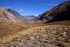 Le Ande - l'Argentina Fotografia Stock Libera da Diritti