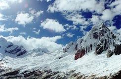 Le Ande peruviane Fotografia Stock