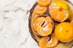 Le arance raggruppano fresco Fotografie Stock