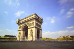 LE Arc de Triomphe Royalty Free Stock Photos