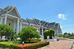 Le arti di sostegno ed il centro internazionale dei mestieri della Tailandia (SACICT) Fotografia Stock Libera da Diritti