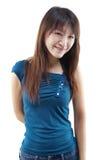 Le asiatisk kvinnlig Royaltyfria Bilder