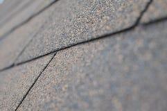 Le assicelle del tetto si chiudono su Fotografia Stock