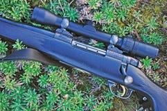 Le attese del fucile Immagini Stock Libere da Diritti