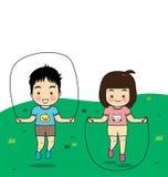 Le attività dei bambini Immagine Stock