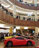 Le automobili esotiche di lusso da vendere immagine stock libera da diritti