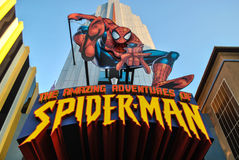Le avventure stupefacenti dello Spiderman Immagini Stock Libere da Diritti