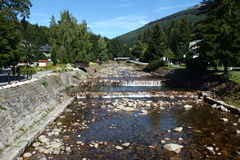 Le bâti de fleuve Images stock