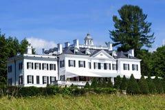 Le bâti, maison d'été du ` s d'Edith Wharton photos libres de droits