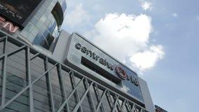 Le bâtiment central du monde indiquent, Bangkok clips vidéos