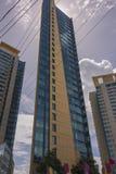 Le bâtiment complexe de bureau du gouvernement principal sur la route de Wrightson, Port-d'Espagne, Trinidad Photo stock