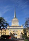 Le bâtiment d'Amirauté dans le St Petersbourg Photo libre de droits