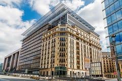 Le bâtiment d'Europa Photo stock