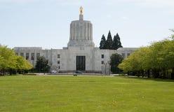 Le bâtiment de capitol d'état de l'Orégon Images libres de droits